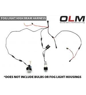 OLM Fog with High Beam Harness - 2015+ WRX / 2015+ STI / 2013+ FR-S / 2014+ Forester / 2013+ Crosstrek