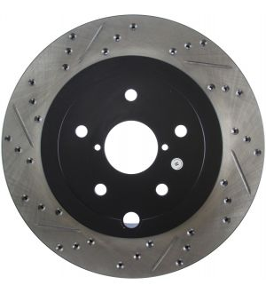 Stoptech Drilled and Slotted Rotor Single Rear Right