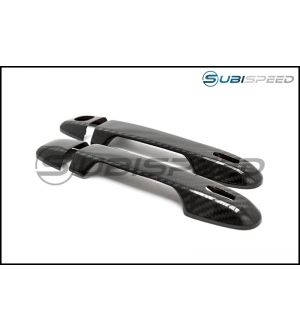 OLM S-Line Dry Carbon Fiber Door Handle Cover - 2013+ BRZ