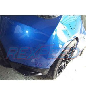 Rexpeed Carbon Fiber Rear Bumper Extensions (STI Style) - 2013+ BRZ