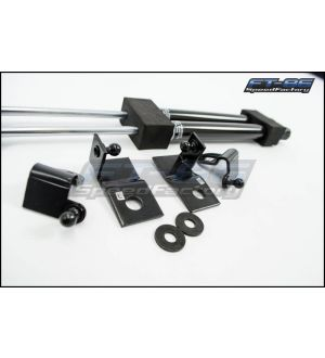 Rexpeed Carbon Hood Damper Kit - 2013+ BRZ