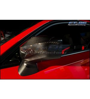 Rexpeed Carbon Mirror Covers - 2013+ BRZ
