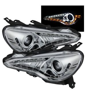 Spyder LED Headlight (Chrome) - 2013+ BRZ