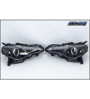 Spyder LED Headlight Non-Halo - 2013+ BRZ