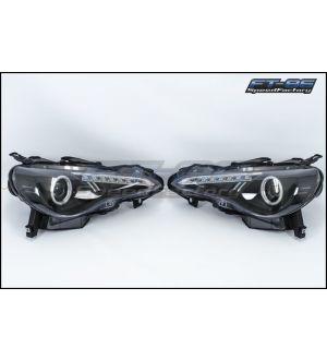 Spyder LED Headlight with Halo - 2013+ BRZ