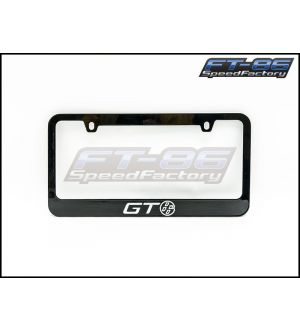 Toyota GT86 Logo License Plate Frame - 2013+ BRZ