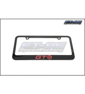 Toyota Red GT86 Logo License Plate Frame - 2013+ BRZ