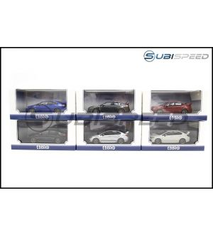 Subaru EBBRO 2014 WRX / STI 1/43 Scale Model Car