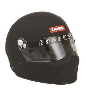RaceQuip Large Matrix F.I.A 8859 / SA2015 Flat Black Helmet