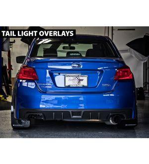 Tail Light Blackout / Tinted Overlay (smoked, red, yellow) - 2015+ WRX / 2015+ STI