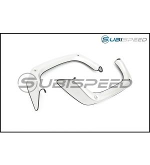 Subaru S4 JDM Stainless Steel Exhaust Finisher Covers - 2015+ WRX / 2015+ STI