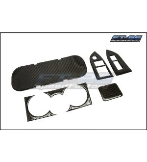GCS Carbon Fiber Style Interior Dress Up Kit - 2013+ BRZ