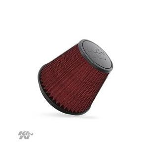 K&N Round Tapered Universal Air Filter 6in Flange ID x 7.5in Base OD x 4.5in Top OD x 6in H