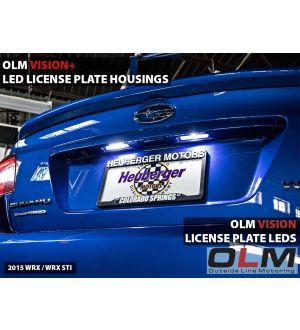 LED License Plate Bulbs - 15+ WRX / STI / 13+ BRZ / 14+ Forester / 13+ Crosstrek / 17+ Impreza