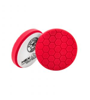 Chemical Guys Hex Logic Self-Centered Perfection Ultra-Fine Finishing Pad - Red - 5.5in (P12)