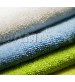 Ammex Microfiber Green Towels
