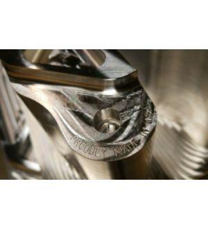 Verus Engineering 7000 Series Rear LCA Kit - Subaru WRX/STI (08-Current), BRZ/FRS/GT86 (2013-Current) - Spherical - Black