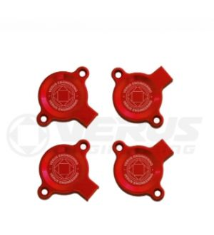 Verus Engineering Front Cam Sensor Cover Kit - FA20 Engine - Red
