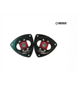 Verus Engineering Front Camber Plate Assembly - BRZ/FRS/GT86 - Red
