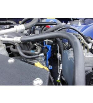 Verus Engineering Drivers Side Fuel Rail Cover - BRZ/FRS/GT86 - Blue