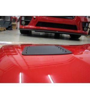 Verus Engineering Hood Louver Kit - WRX/STI (VA) - Black
