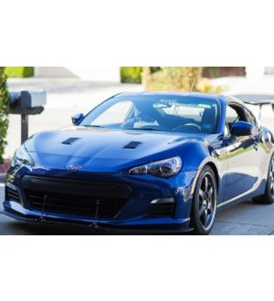 Verus Engineering Hood Louver Kit, Small Vents - BRZ/FRS/GT86 - Raw