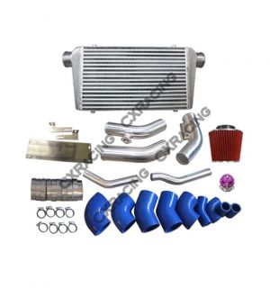 CX Racing 2JZ-GTE Intercooler Turbo Intake Radiator Pipe Kit for 240Z 260Z 280Z 2JZGTE