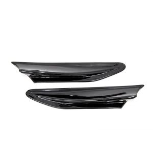 OLM PAINT MATCHED TRD STYLE AERO FINS 2013+ FR-S / BRZ / 86 - Crystal Black Silica / Raven (D4S)