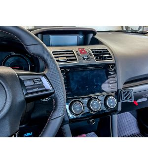 OLM EZ SUBARU DASH MOUNT FOR PHONES / ACCESSPORT / MORE 2015-2021 Subaru WRX & STI / 2013-2018 Crosstrek / 2014-2018 Forester - Without Scosche Magnetic Mount