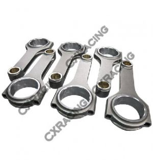 CX Racing H-Beam Connecting Rod for BMW E36 M3 M50 M52 S50 S52 Engine 139mm