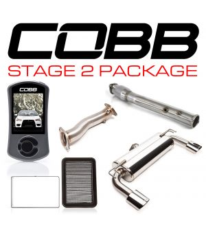 COBB Tuning Stage 2 Power Package with Oval Tip Exhaust
