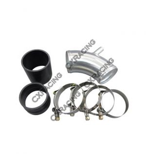 CX Racing Air intake Throttle body pipe For BMW E30 Turbo 2.75