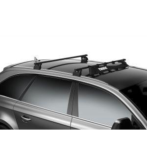 Thule AirScreen Roof Rack Wind Fairing XL - 52in. (Black)
