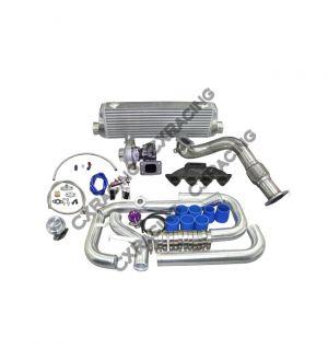 CX Racing Turbo Kit For 1996-2000 Honda Civic EK B16 B18 B20 Cast Manifold Oil Return Line