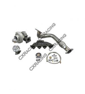CX Racing Turbo Intercooler kit For Civic EK Si B 96-00 Keeps AC PS