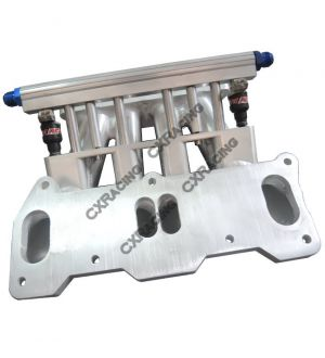 CX Racing Lower Intake Manifold For Mazda 13B REW Rotary Engine 4 Port RX7 FD