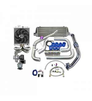 CX Racing Turbo Intercooler Kit For 1988-2000 Honda Civic B16 B18 B-SERIES