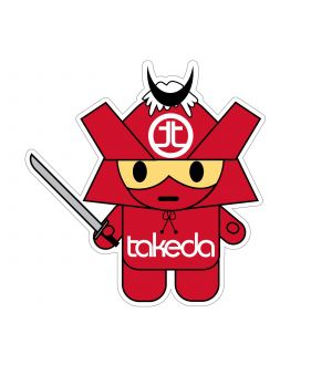aFe Takeda Mascot Decal (4-1/2in x 4-1/2in)