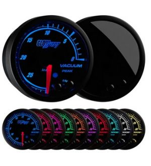 Glowshift Elite 10 Color Vacuum Gauge