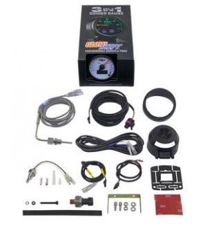 Glowshift 3in1 Dodge Ram Style EGT w/ Digital Boost & Temp Gauge