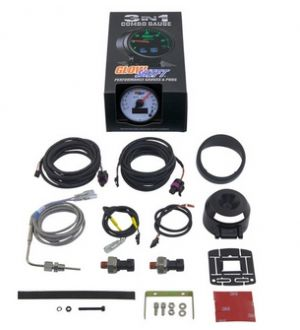 Glowshift 3in1 Dodge Ram Style EGT w/ Digital Boost & Pressure Gauge