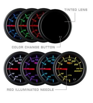 Glowshift Tinted 7 Color Needle Wideband Air/Fuel Ratio Gauge
