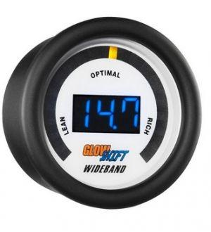 Glowshift White 7 Series Digital Wideband Air/Fuel Ratio Gauge