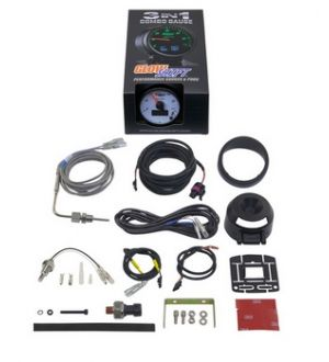 Glowshift 3in1 Dodge Ram Style Boost w/ Digital EGT & Temp Gauge