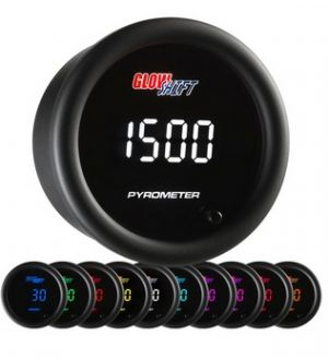 Glowshift 10 Color Digital Pyrometer EGT Gauge