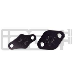 IAG Air Pump Block Off Plates for 2006-14 Subaru WRX, 07-17 STI, 06-09 LGT