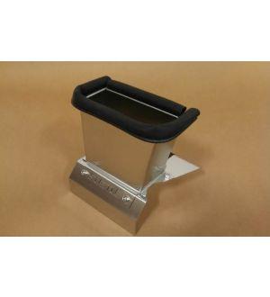 Subtle Solutions (02-07) Impreza - Chimney Duct w/ Heatshield (Brushed)