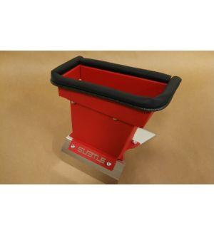 Subtle Solutions (04-06) Saab - 92X - Chimney Duct w/ Heatshield (Red)