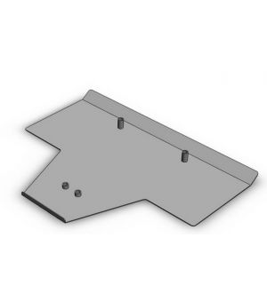 Subtle Solutions (03-08) Forester NA - Skid Plate (Medium Duty)