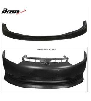Ikon Motorsports Fits 2006 - 2008 Honda Civic FG2 2Dr Coupe Ikon Aero DP Front Lip Bumper Splitter